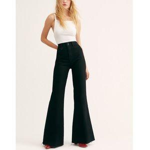 Free People x Neon Blonde Kiki Super Sweep Jeans